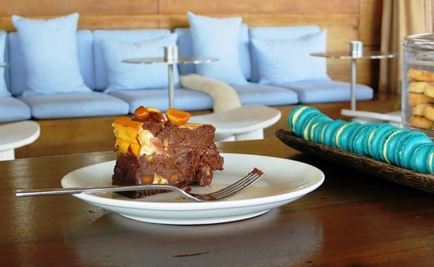 Singita Lebombo Lodge | Chocolate and Macadamia Cheesecake