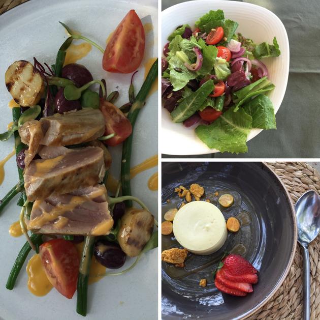 Gluten free food at Singita